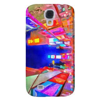 Times Square Pop Art Galaxy S4 Case