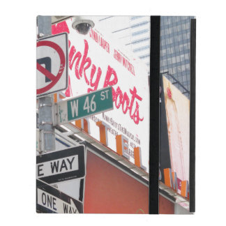 Times Square Signs iPad Cases