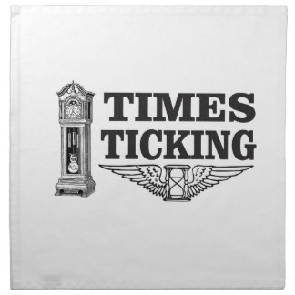 times ticking ttt napkin