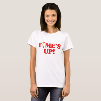 TIME'S UP Flower Power T-Shirt