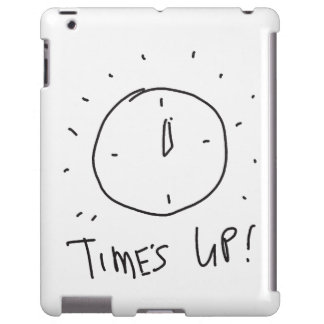 Time's Up iPad Case