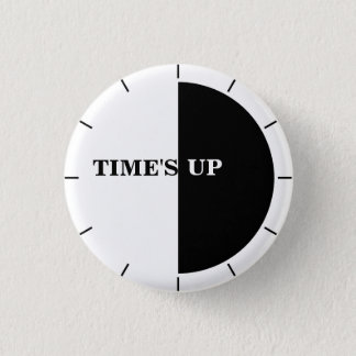 TIME'S UP Style 17 3 Cm Round Badge