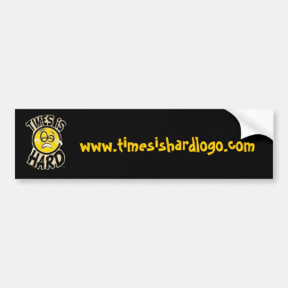 timesishardlogo com bumper stickers