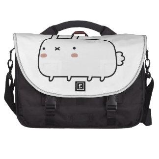 Timid Rabbit Laptop Messenger Bag