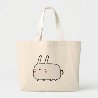 Timid Rabbit Tote Bag