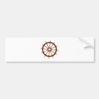 Timing gear steering wheel bumper stickers