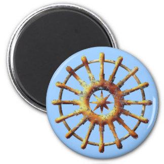 Timing gear steering wheel magnet
