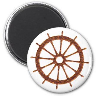 Timing gear steering wheel fridge magnet