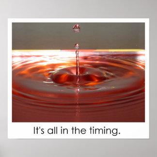 Timing Poster