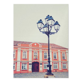 Timisoara architecture 17 cm x 22 cm invitation card