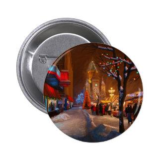 Timisoara Christmas Market 6 Cm Round Badge