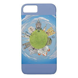 timisoara city romania tiny little planet landmark iPhone 8/7 case