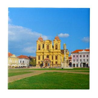 Timisoara dome landmark architecture travel touris ceramic tile