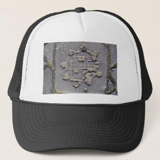 Timisoara Romania citadel map paving stone ancient Trucker Hat