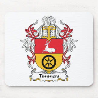 Timmers Family Crest Mouse Pad