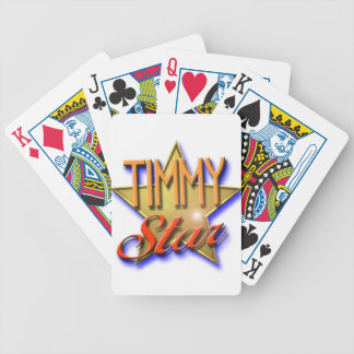 Timmy Star Bicycle Playing Cards