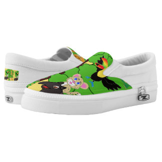 Timmy the Keel-billed Toucan Shoes