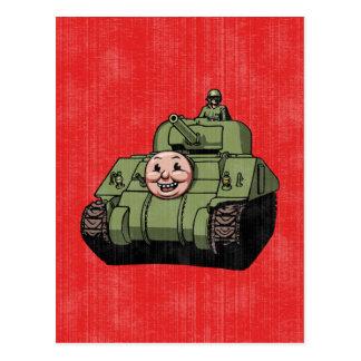 Timmy the Tank Postcard
