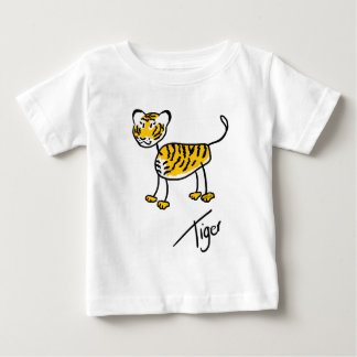 Timmy Tiger Baby T-Shirt
