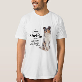 Timmy's Blue Merle Sheltie T-shirt