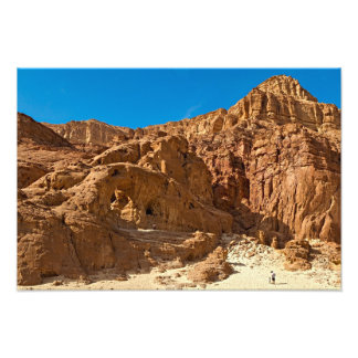 Timna national geological park photo print