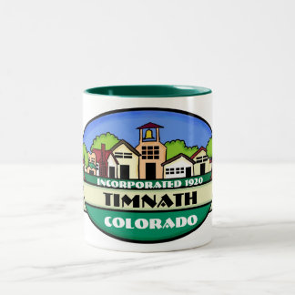Timnath Colorado small town coffee mug