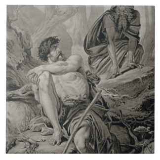 Timon and Apemantus, from Timon of Athens by Willi Tile