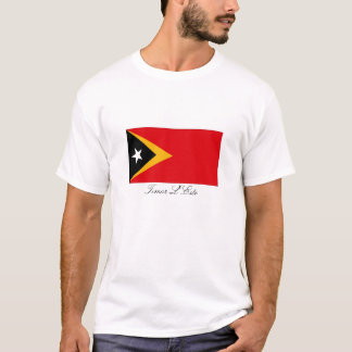 Timor L'Este East Timor flag souvenir tshirt