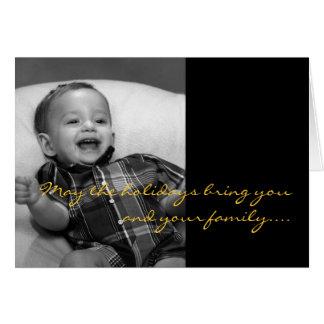 Timothy Carter Jr. Holiday Card