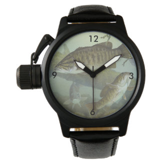 """Timothy Knepp Painting """"Smallmouth Bass"""" Watches"""