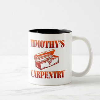 Timothy's Carpentry Two-Tone Coffee Mug
