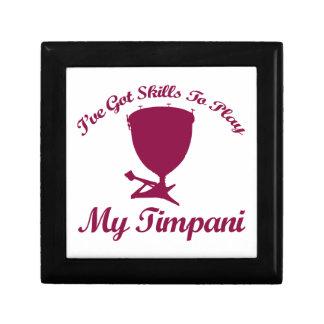 timpani designs small square gift box