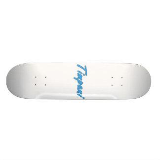 timpani text blk outline cornflower png skate board deck