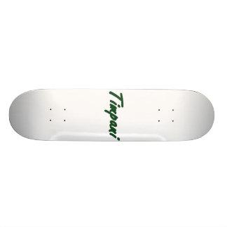 timpani text blk outline drk green png skate deck