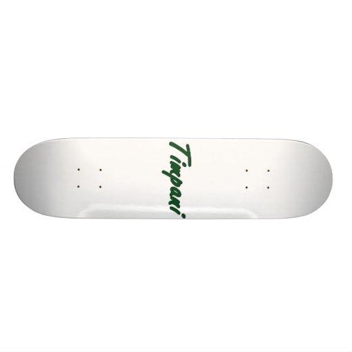 timpani text blk outline drk green.png skate deck