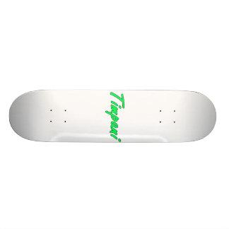 timpani text blk outline mint png custom skateboard