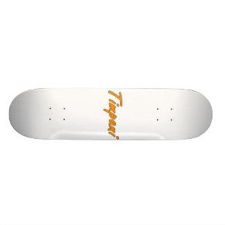timpani text blk outline orange png skate decks