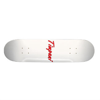 timpani text blk outline red png skate boards