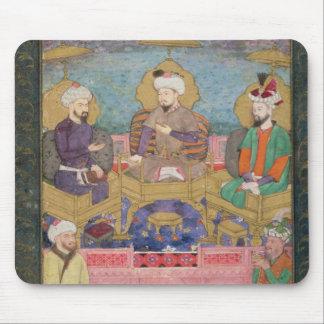 Timur (1336-1405), Babur (1483-1530, r.1526-30) an Mouse Pad