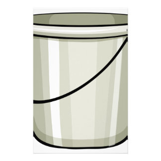 Tin bucket customised stationery