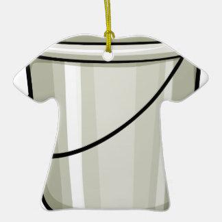 Tin bucket ceramic T-Shirt decoration