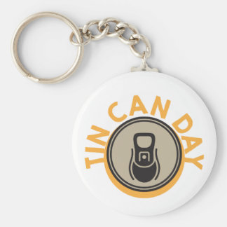 Tin Can Day - Appreciation Day Key Ring