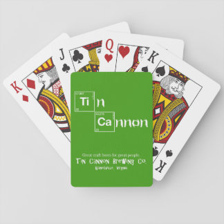 Tin Cannon Periodic Table Playing Cards