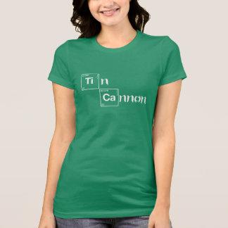 Tin Cannon Periodic Table Shirt - Ladies