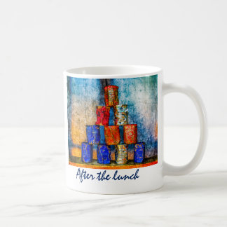 Tin Cans - After The Lunch Coffee Mug