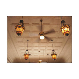 Tin Ceiling Gallery Wrap Canvas