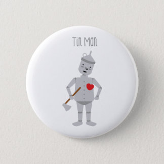 Tin Man 6 Cm Round Badge