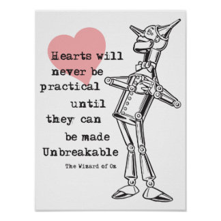 Tin Man and Unpractical Hearts Poster