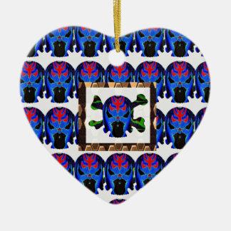 TIN Man BLUE - Ghost Skull Halloween FUN KIDS Gift Christmas Ornaments