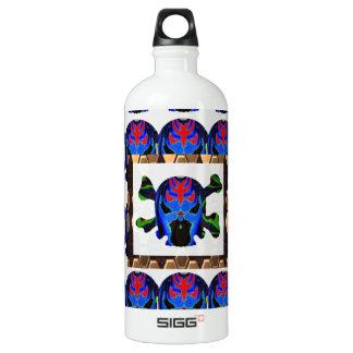 TIN Man BLUE - Ghost Skull Halloween FUN KIDS SIGG Traveller 1.0L Water Bottle